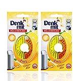 Mülleimer Deo (2er Pack) - Neutralisiert Gerüche - Spendet frischen Limonen Duft - Kindersicher - Für lang anhaltende Frische - Einfache Anwendung