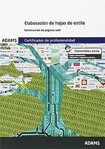 elaboracion de paginas web: Elaboración de hojas de estilo: certificado de profesionalidad de confección y p...