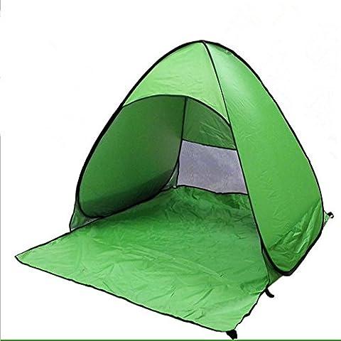 M G Fly Young Zelt Camping Outdoor Beach Sonnenschutz Outdoor Cabana Sommer fully-auto Pop Up Angeln Picknick Shelter geeignet für 23Personen tragbar, grün