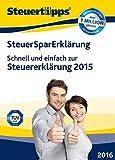 SteuerSparErkl�rung 2016 (f�r Steuerjahr 2015)  Bild