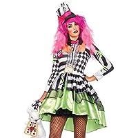 Amazon.es  disfraz sombrerero loco - Mujer   Adultos   Disfraces ... 84347df6bbb