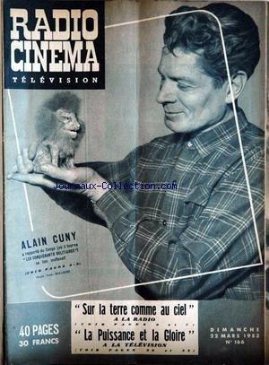 RADIO CINEMA TELEVISION [No 166] du 22/03/1953 par COLLECTIF