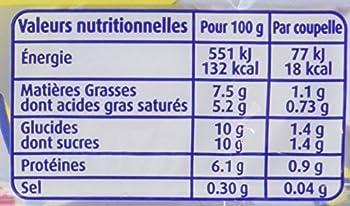 Régilait Lait Concentré Non Sucré Maxi Coupelles 140 g - Lot de 10(10 paquets de 10)