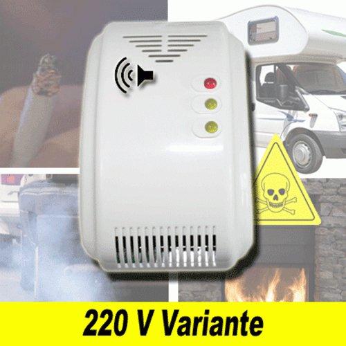 Alarma de monóxido de carbono Detector de gas metano propano Casa Barco Caravana CO3.