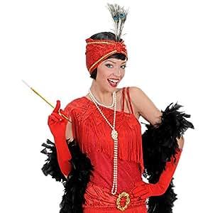 Collier avec perles collier perles chaîne collier de perles bijou en perle Mardi gras Carnaval imitation Charleston