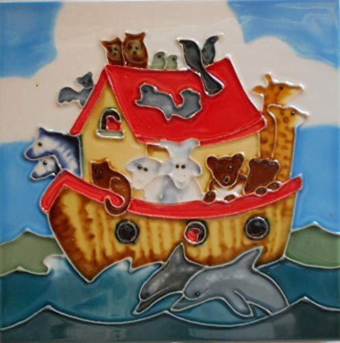 iese Noahs Arche 15,2 x 15,2 cm mit Staffeleirückseite ()