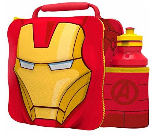 PERSONAGGIO MARVEL 3D TERMICHE Borsa Pranzo (Iron Man)