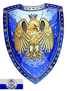 Liontouch 27001 Escudo de Eagle, Púrpura, Golden Eagle/Escudo Golden Eagle