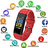 Fitness Tracker, LIGE Pulsmesser Smart Armband Activity Tracker Bluetooth Schrittzähler mit Schlaf Monitor Outdoor Sportarten Wasserdicht Fitness Uhr für Android & iOS Smartphones Bluetooth-Verbindung
