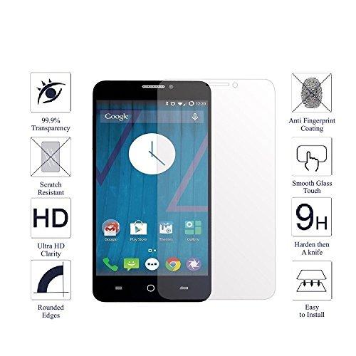 Micromax YU Yureka AO5510 / Yureka Plus Toughened Shatterproof Tempered Glass Screen Protector Gizmo Pro HD + 9H 2.5D