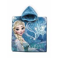 Star  Disney Frozen Art. Code- 50733, Cotton Poncho Toweling Robe, Size- 55 x 110 cm