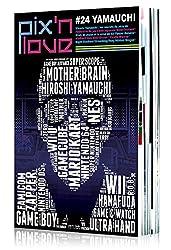 Pix'n Love,  n° 24,   Yamauchi : Hiroshi Yamauchi, les secrets du père de l'industrie du jeu vidéo japonais, Killer instinct, Atari, le japon et la ... 83, Panzer general, Medievil, Gex 3DO, Gryzor