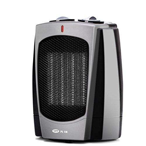 Keramische heizung,Remote control Thermostat Tisch Energieeinsparung Energiesparmodus Portable Mini-A 21x16cm(8x6inch)