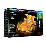 Laser Pegs 41011 Racer - Set de construcción 4 en 1