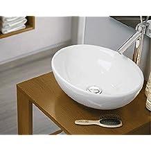 LAVABO SOBRE ENCIMERA ART&BATH OVAL 410X330X145