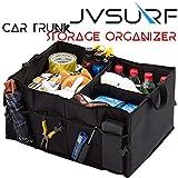 JVSURF Auto Kofferraum Organizer mit Taschen faltbar tragbar wasserfest Cargo Lagerung Heavy Duty Stoff für alle Arten von Fahrzeugen