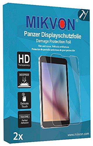 MIKVON 2X Film blindé Film de Protection d'écran pour Sony SmartWatch 3 - Emballage d'origine et Accessoires (intentionnellement Plus Petit comme l'écran, Parce qu'il est arqué)