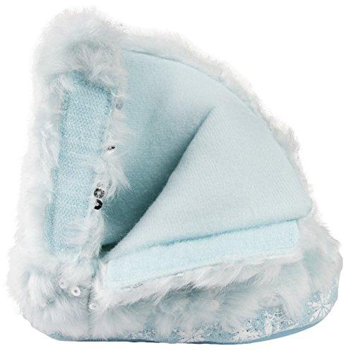 Frozen ,  Mädchen Durchgängies Plateau Sandalen mit Keilabsatz Frozen - Blue Snowflakes