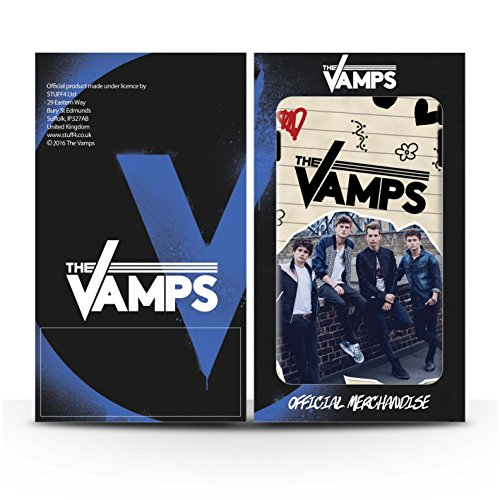 Offiziell The Vamps Hülle / Matte Harten Stoßfest Case für Apple iPhone SE / Pack 5Pcs Muster / The Vamps Doodle Buch Kollektion Pack 5Pcs