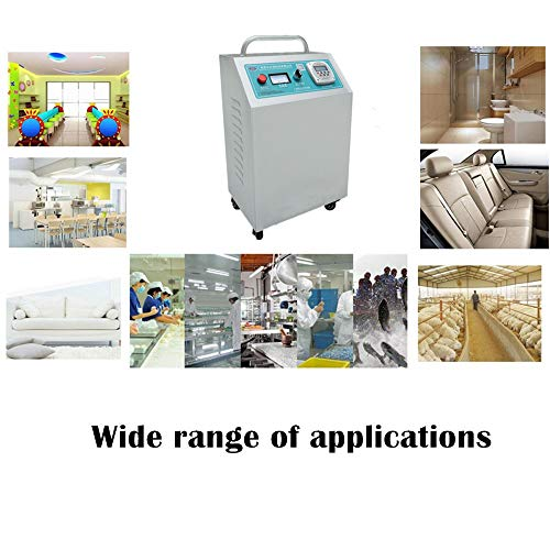 51qvjHQhzSL. SS500  - GXHGRASS Commercial Ozone Generator, 15000Mg/ Industrial O3 Air Purifier Deodorizer Sterilizer, Two Kinds of Timers,Light Grey