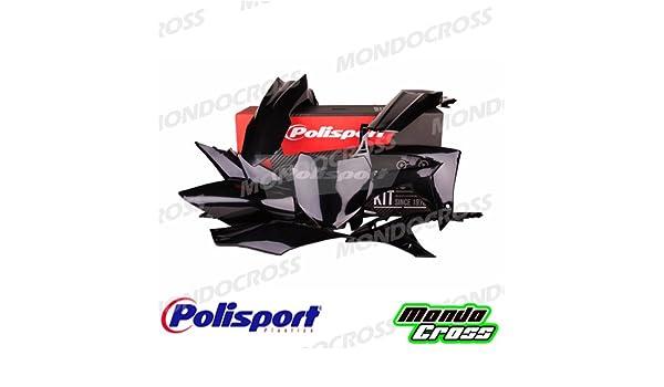 MONDOCROSS Kit plastiche cross mx POLISPORT Nero HONDA CRF 250 R 10-10 CRF 450 R 09-10