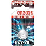 Maxell Batterie au lithium CR2025 by Maxell