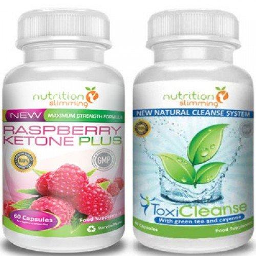 Raspberry Ketone + ToxiCleanse (1 mese) -