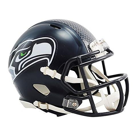 NFL Seattle Seahawks Official Mini Replica Helmet - 13cm High