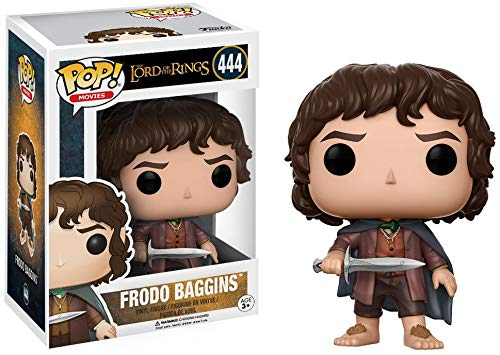 Funko 13551 Herr der Ringe POP Vinylfigur: LOTR/Hobbit: Frodo Baggins, Multi