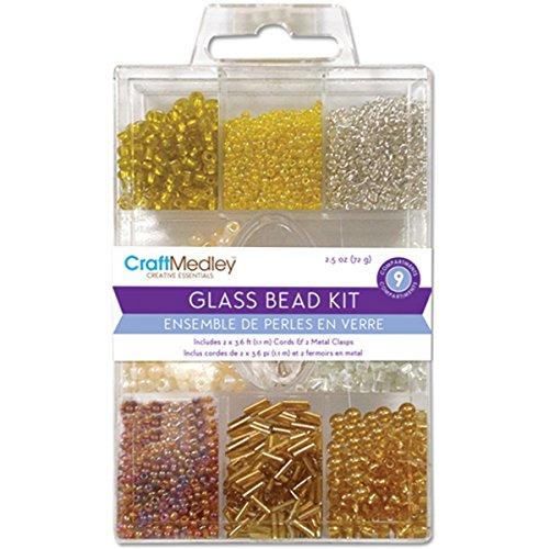 Glas Bead Kit (Multicraft Imports Glas Bead Kit, Jewel)