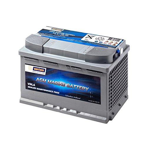 Preisvergleich Produktbild Vetus AGM-Batterie 12V / 70Ah