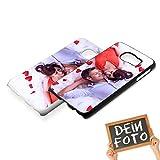 Handyhülle für Samsung Galaxy-Serie selbst gestalten * eigenes Foto * Schutz mit eigenem Bild, Farbe:Schwarz, Handymodell:Samsung Galaxy S6