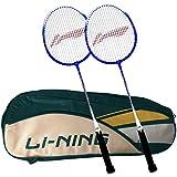 [Sponsored]Li-Ning Abdk122 Smash Xp 707 Combo (Li-Ning Abdk122 Badminton Kitbag + Li-Ning 707 Badminton Racquet, Set Of 2) - Cyan Bag