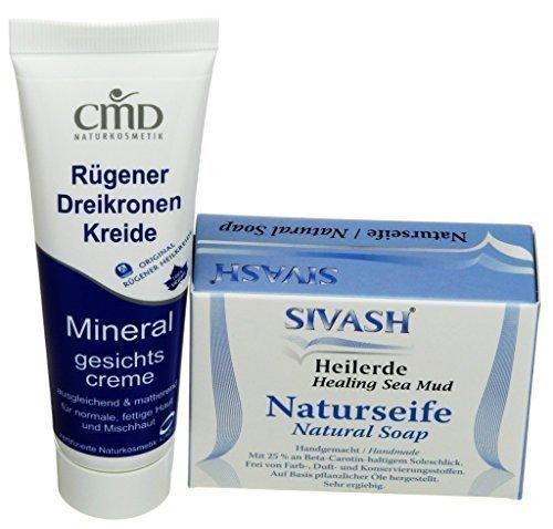 Mineralset für unreine, fettige, zu Rötungen neigende Haut oder Mischhaut:...
