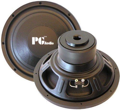 PG Audio E124, 12' 30 cm Subwoofer, 600 Watt max.1 Stück! (Watt 250 Subwoofer)