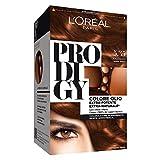 L'Oréal Paris Prodigy Colorazione Permanente senza Ammoniaca, Risultato Colore Naturale, 5.35 Cioccolato Castano Ramato