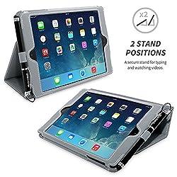 Snugg iPad Mini 1 und Mini 2 Case / Schutzhülle Die Snugg Apple iPad Mini 1 und Mini 2 Hülle ist schmal, formschön und passgenau auf das iPad mini 3 zugeschnitten. Die Hülle besteht außen aus strapazierfähigem Kunstleder und innen aus weichem Premiu...