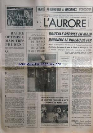 AURORE (L') [No 10073] du 03/02/1977...