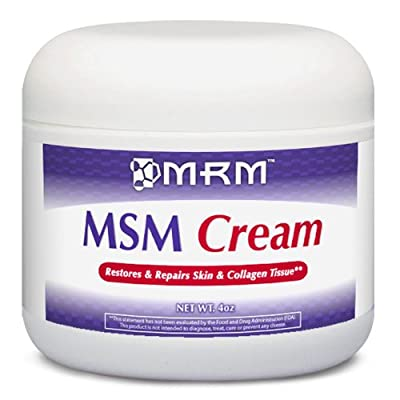 MSM Topical Cream - Highest Potency from MRM-Metabolic Response Modifiers