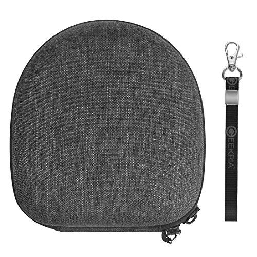 geekria Ultrashell Kopfhörer Tragetasche, Kompatibel mit Marshall Major, Major II, Major III, Monitor Bluetooth Wireless Over-Ear Kopfhörer, Schutzhülle Hard Shell Headset Reisetasche (Kopfhörer-monitor Wireless)