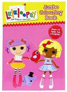 Alligator Books-Libro para colorear, diseño de Lalaloopsy