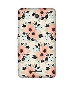 Pink Flowers Sony Xperia E4 Case