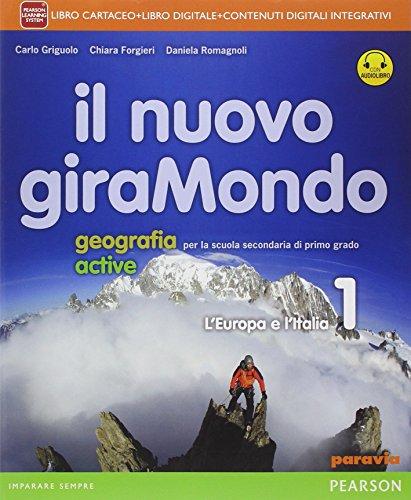 Nuovo giramondo. Con Italia delle regioniLIM. Per la Scuola media. Con e-book. Con espansione online. Con libro: 1