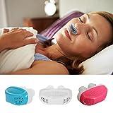 Pinza antirronquidos Igemy de silicona con dilatadores nasales, alivia la apnea de sueño y ayuda con los ronquidos