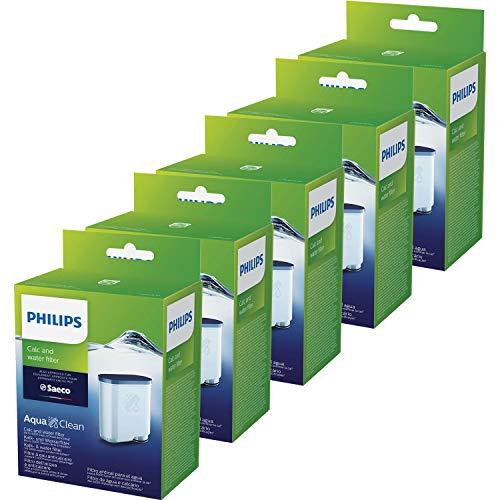 5 x Saeco AquaClean Kalk- und Wasserfilter