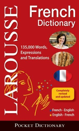Larousse Pocket French-English/English-French Dictionary (English and French Edition) Blg Rev Up edition by Larousse (2011) Paperback