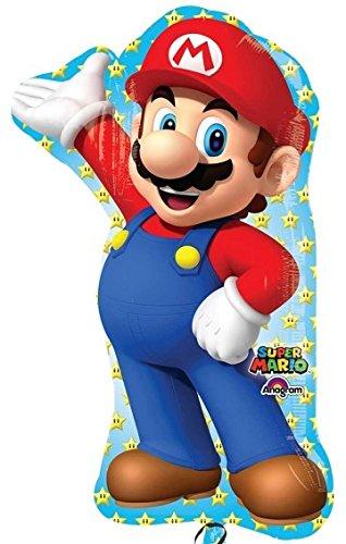 Nintendo Super Mario Bros Folienballon Folien Ballon 80 cm *NEU*OVP*