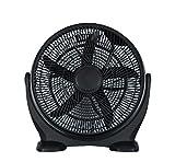 Zephir ZBF04CM Ventilatore da Pavimento, Nero