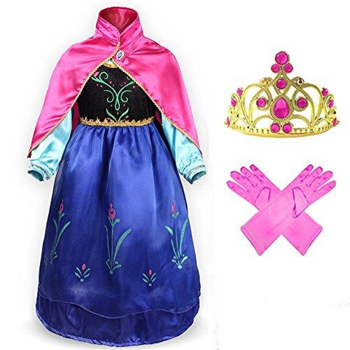 geniales-costume-vestito-guanti-strato-tiara-diadema-principessa-fucsia-carino-regalo-di-compleanno-