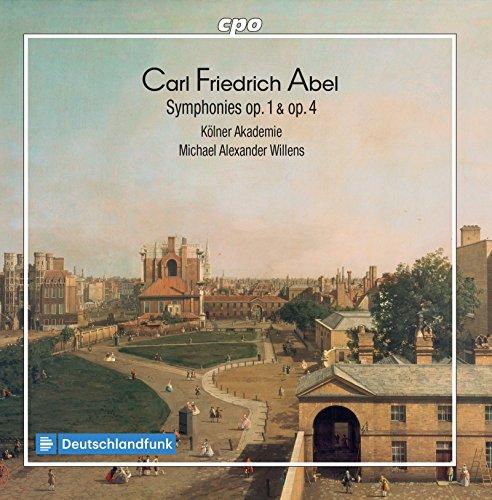 Abel: Symphonies, Opp. 1 & 4